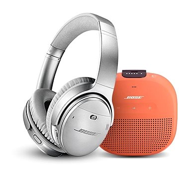Bose QC 35 II Silver a Bose SL Micro Orange (QC 35 II Silver a SL Micro Orange)