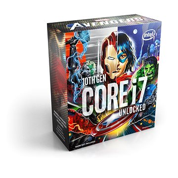 Intel Core i7-10700K Avengers (BX8070110700KA)