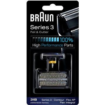 Braun CombiPack FlexIntegral-31S, stříbrná (4210201072829)