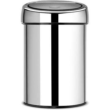 Odpadkový koš Brabantia Touch Bin 3l, lesklá ocel (363962)
