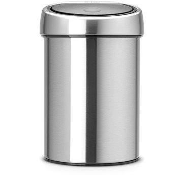 Odpadkový koš Brabantia Touch Bin 3l, matná ocel (363986)