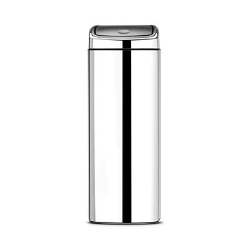 Odpadkový koš Brabantia Touch Bin 25l, čtvercový lesklá ocel (384905)