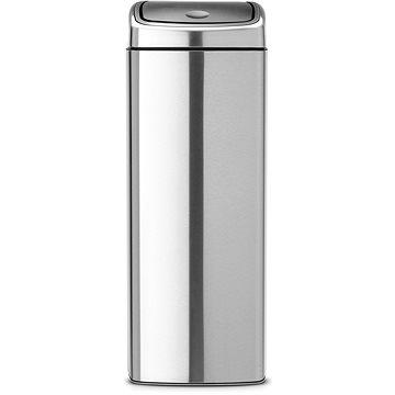 Odpadkový koš Brabantia Touch Bin 25l, čtvercový matná ocel (384929)