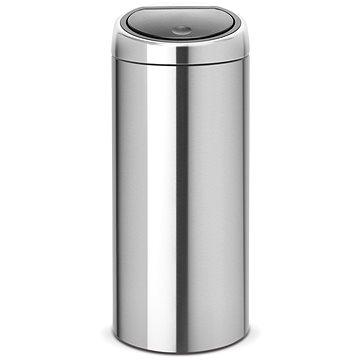 Odpadkový koš Brabantia Touch Bin 30l, matná ocel (378669)