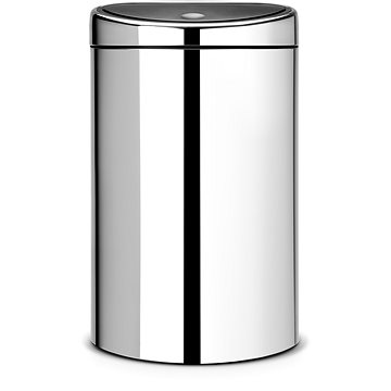 Odpadkový koš Brabantia Touch Bin 40l, lesklá ocel (348587)