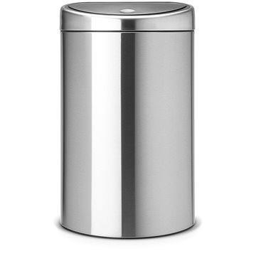 Odpadkový koš Brabantia Touch Bin 40l, matná ocel (378683)