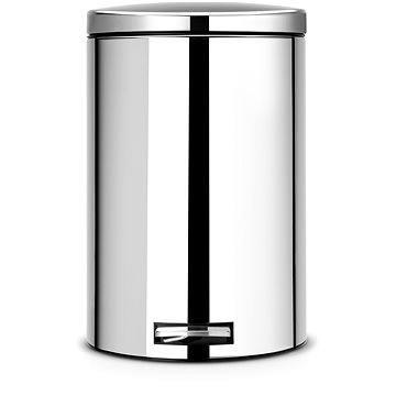 Odpadkový koš Brabantia Pedálový Silent 20l, lesklá ocel (478369)