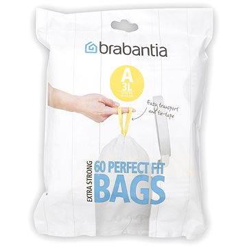 Pytle na odpadky Brabantia Pytle 3l (A) 60 ks (348983)