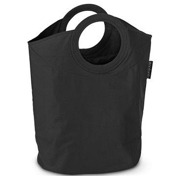 Brabantia, taška na prádlo oválná, barva černá (101601)