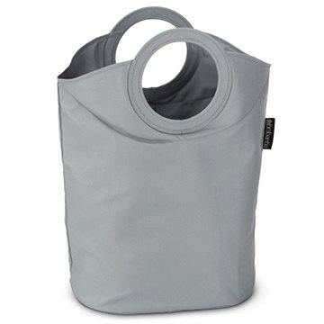 Brabantia, taška na prádlo oválná, barva šedá (102448)