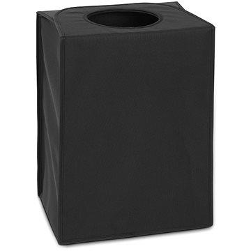 Brabantia, taška na prádlo obdélníková, barva černá (101762)