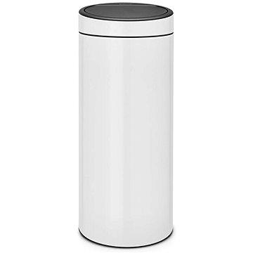 Odpadkový koš Brabantia, koš touch bin new 30l barva bílá (115141)