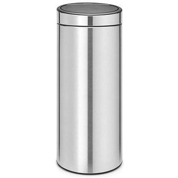 Odpadkový koš Brabantia, koš touch bin new 30l barva matná ocel (115462)