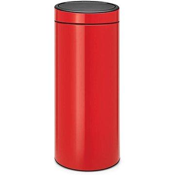 Odpadkový koš Brabantia, koš touch bin new 30l barva červená (115189)