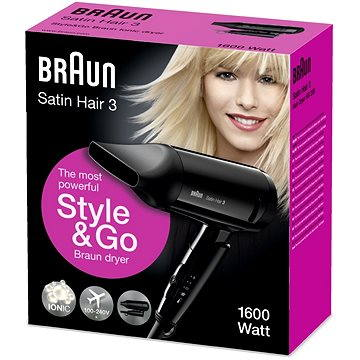 BRAUN Hairdryer HD350 (4210201107934)