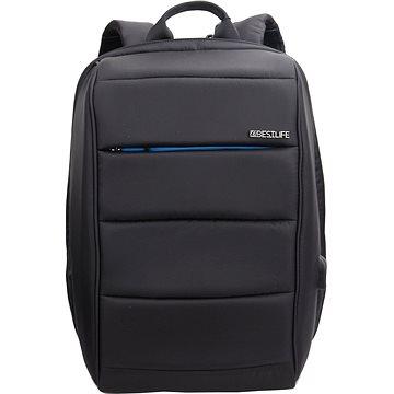 "BESTLIFE Travel Safe 15.6"" černo/modrý (BB-3456BU-1-15.6"")"