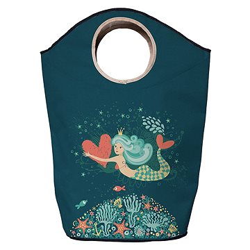 Koš na prádlo Butter Kings multifunkční pytel mermaid in love (JG59)