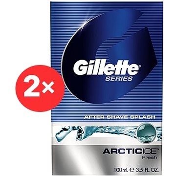 GILLETTE Series Arctic Ice 2 × 100 ml