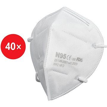 STX respirátor KN95 / FFP2 multipack 40ks