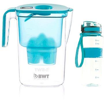 BWT VIDA modrá + outdoor sport bottle petrol