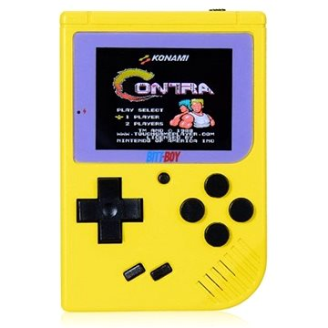 BittBoy FC Mini Handheld Yellow