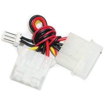 Redukce napájení z 4 pin 5.25 konektoru [zdroj] na 3pin konektor [chladič] - Male (PC-CC1)