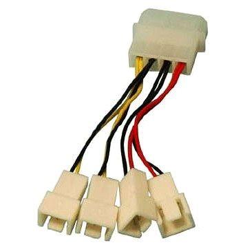 OEM 1x4pin konektor --> 2x3pin konektor 5V a 2x3pin konektor 12V (11921105)