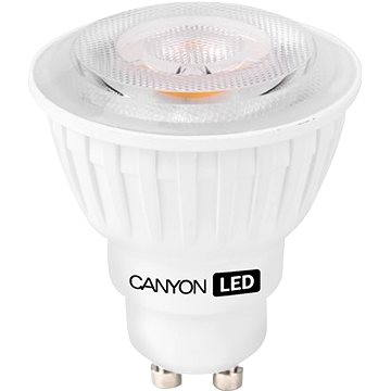 Canyon LED COB žárovka, GU10, bodová MR16, 4.8W (MRGU10/5W230VW38)