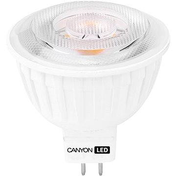 Canyon LED COB žárovka, GU5.3, bodová MR16, 4.8W (MRGU5.3/5W12VW60)