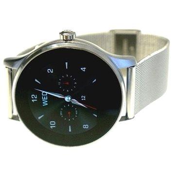 Chytré hodinky Carneo Smart Manager stříbrné