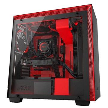NZXT H700i černo-červená (CA-H700W-BR)