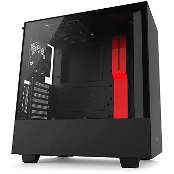 NZXT H500i černo-červená (CA-H500W-BR)