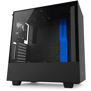NZXT H500i černo-modrá (CA-H500W-BL)