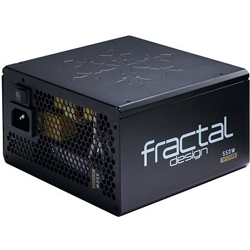 Fractal Design Integra M 550W černý (FD-PSU-IN3B-550W)