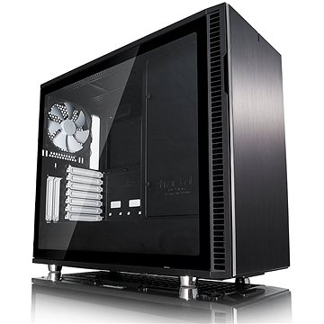 Fractal Design Define R6 USB-C černá Tempered Glass (FD-CA-DEF-R6C-BK-TGL)
