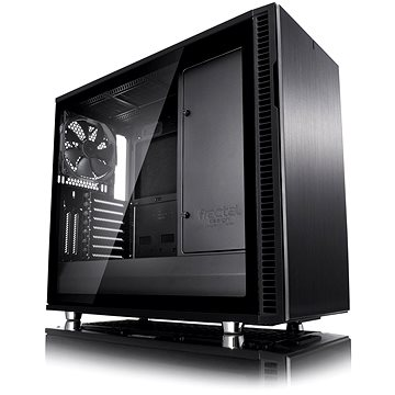 Fractal Design Define R6 USB-C Blackout Tempered Glass (FD-CA-DEF-R6C-BKO-TGL)