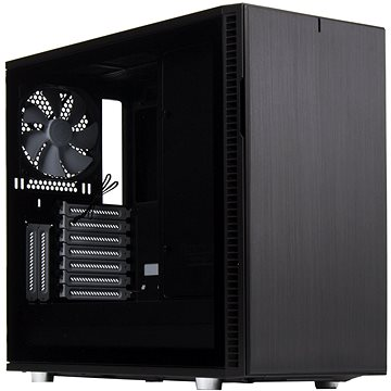 Fractal Design Define R6 Black Tempered Glass (FD-CA-DEF-R6-BK-TG)