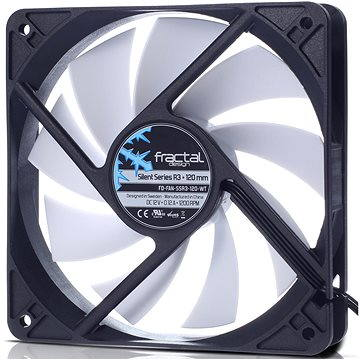 Fractal Design 120mm Silent Series R3 (FD-FAN-SSR3-120-WT)