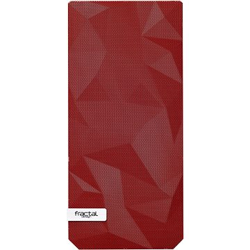 Fractal Design barevný Mesh přední panel pro Meshify C červená (FD-ACC-MESH-C-FFILT-RD)