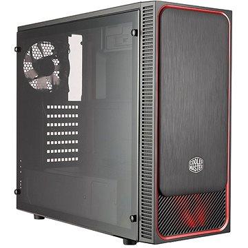 Cooler Master MasterBox E500L červená (MCB-E500L-KA5N-S01)