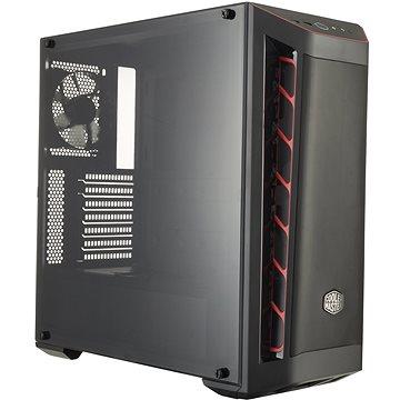 Cooler Master MasterBox MB511 Mesh Red Trim (MCB-B511D-KANN-S00)
