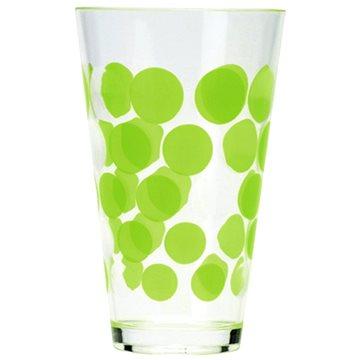 ZAK DOT DOT plastová sklenice 300ml, zelená (0204-1400)