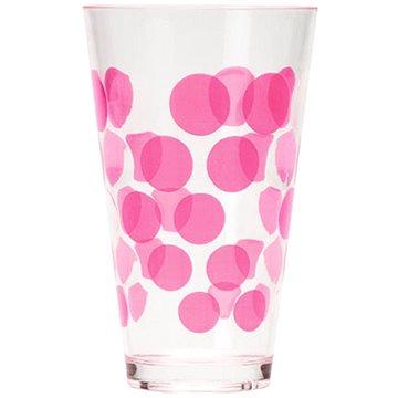 ZAK DOT DOT plastová sklenice 300ml, fuchsia (0896-1400)