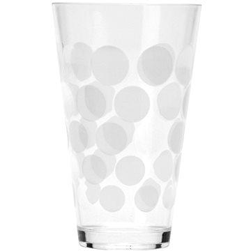 ZAK DOT DOT plastová sklenice 300ml, bílá (0016-1404)