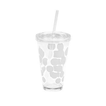 ZAK DOT DOT Ice plastová sklenice 480ml bílá (1358-5720)