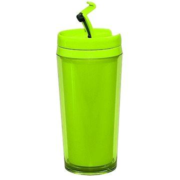 ZAK Láhev na teplý/studený nápoj 400ml, zelená (0204-8090)