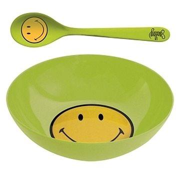 ZAK Snídaňový set SMILEY 17cm, zelený (6187-2303)
