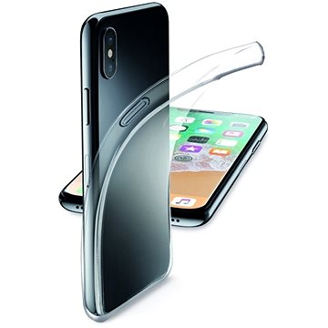 CellularLine Fine pro iPhone X bezbarvý (FINECIPH8T)