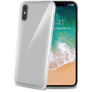 CELLY Gelskin pro iPhone X bezbarvý (GELSKIN900)