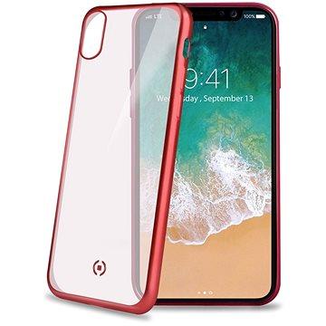 CELLY Laser pro iPhone X/XS červený (LASERMATT900RD)